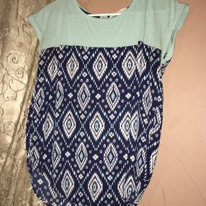 Casual dress top
